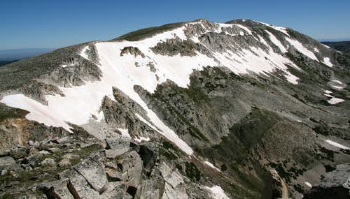 View to Medicine Bow Peak