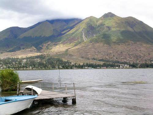 Imbabura from Laguna San...
