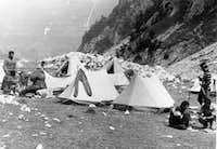 Albanian Alpine Federation in Thethi, 1970s