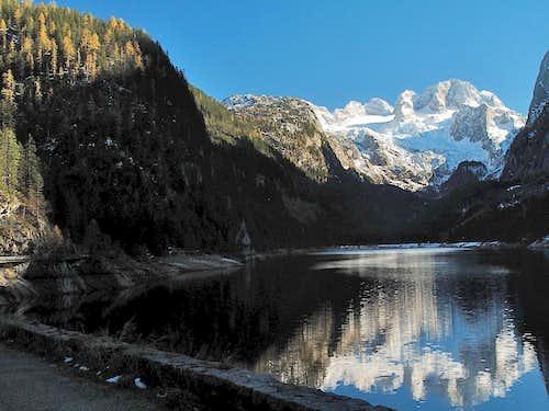 Dachstein and Lake Vorderer Gosausee