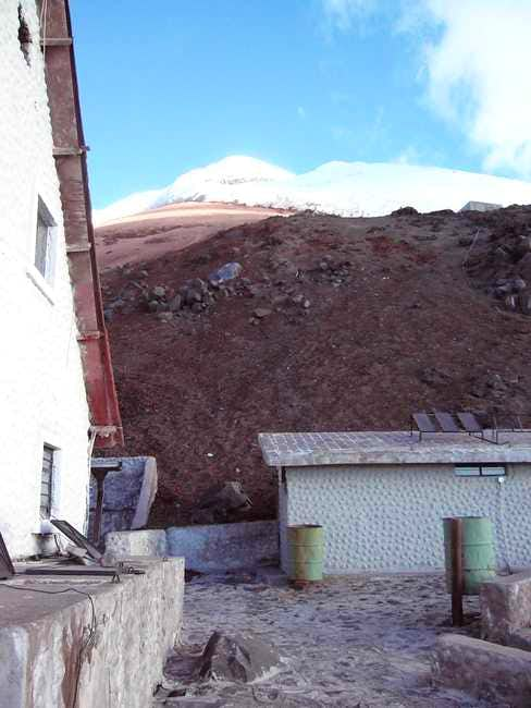 Cotopaxi from the Refugio...
