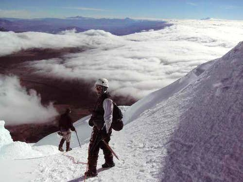 On the Descent from Cotopaxi