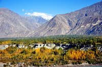 Rakaposhi & Gilgit Valley during Autumn