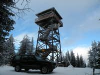 Bald Mountain Lookout with Transportation