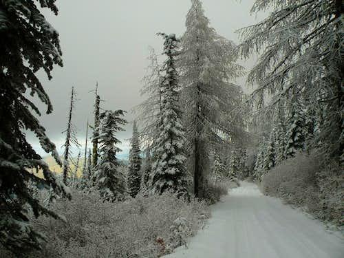 Bald Mountain Early Snow