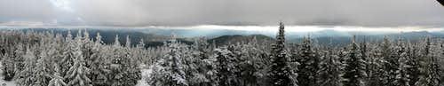 Bald Mountain Panoramic South