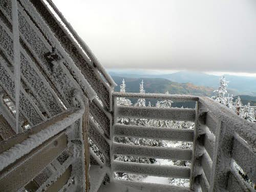 Bald Mountain Lookout Cold