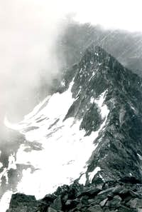 <b>GRAUSON Tower</b> <i>(3240m)</i> from <b>GARIN Peak</b> 1971