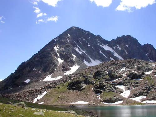 il monte Grauson (3240 m.)