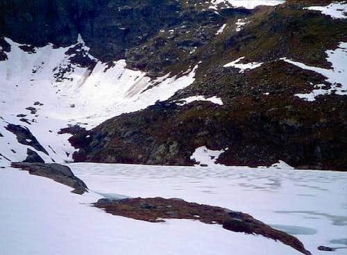 disgelo al lago S. Grato (2462)