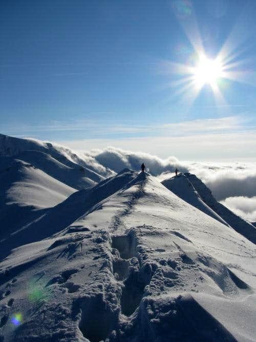Bucegi mountains - Clincea-Tiganesti ridge