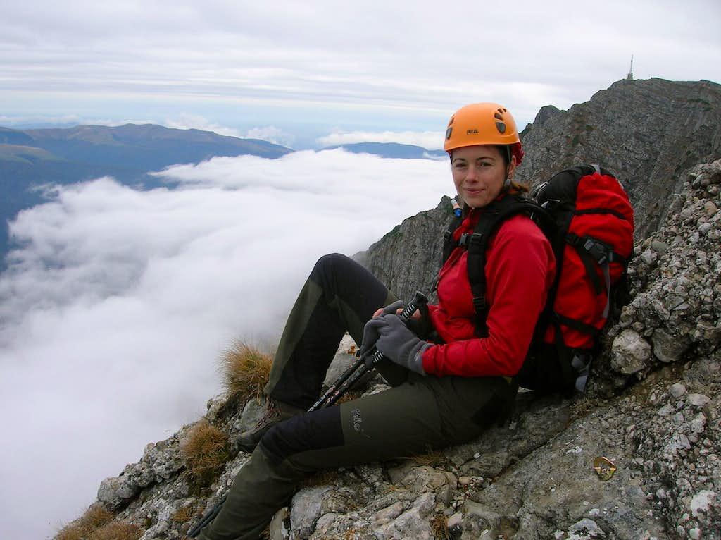Bucegi mountains - Aerial Ledge