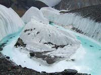 Icy river of baltoro