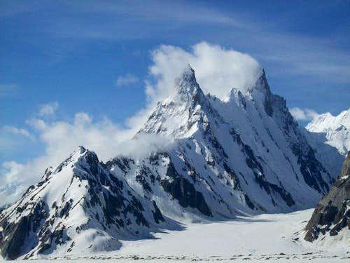 snow Lake Mountains