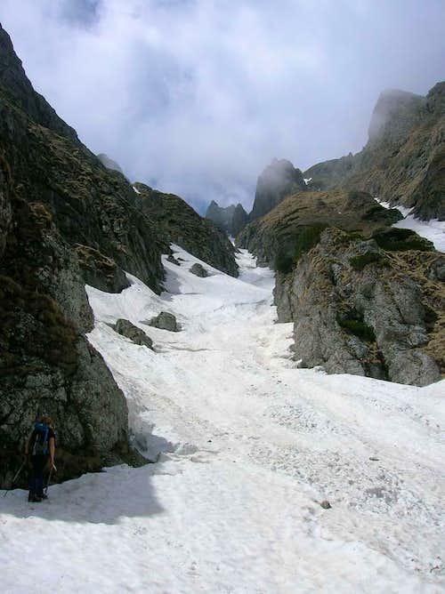 Bucegi mountains - Bucsoiului Valley
