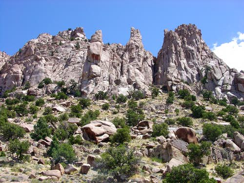 West Sawtooth Spires