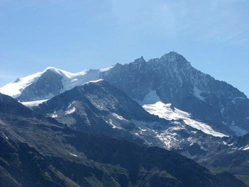 Bishorn and Weisshorn seen...