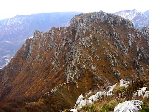 Moregallo from Corno Orientale di Canzo
