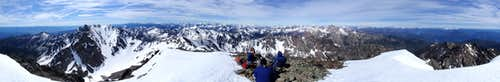 North Gardner Mountain 360° View