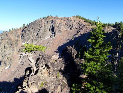 Paulina Peak Northwest Face