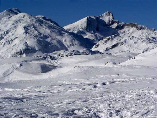 Snowy Krn from Bogatinsko...