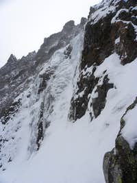 Palace Butte Icefall