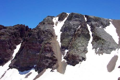"The ""Y"" Couloir."
