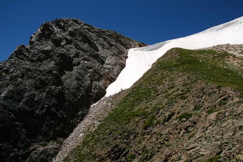 Diamond Summit and Headwall