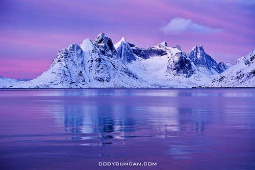 Kjerkfjord Winter