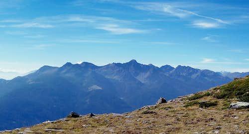 Ultentalkamm / Cresta Val d'Ultimo