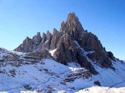 Monte Paterno from Rifugio...