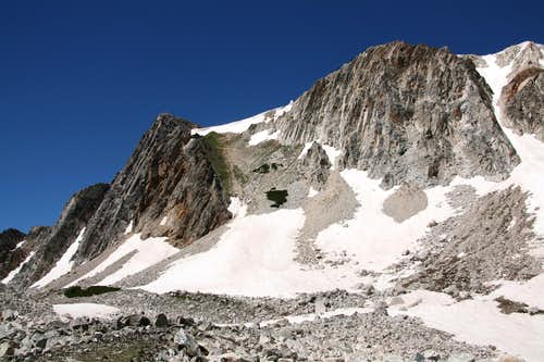 Diamond, Buttress, and Couloir