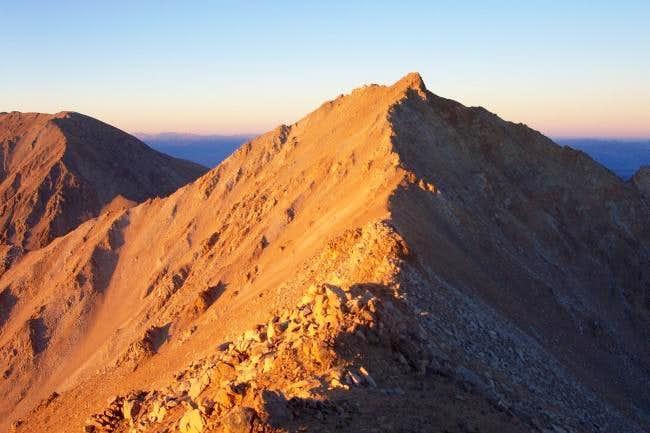 The ridge between Boundary...
