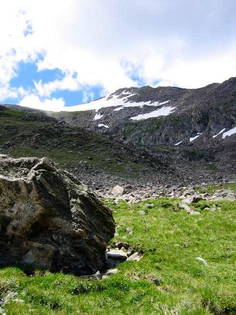 Jasper Peak taken from just...