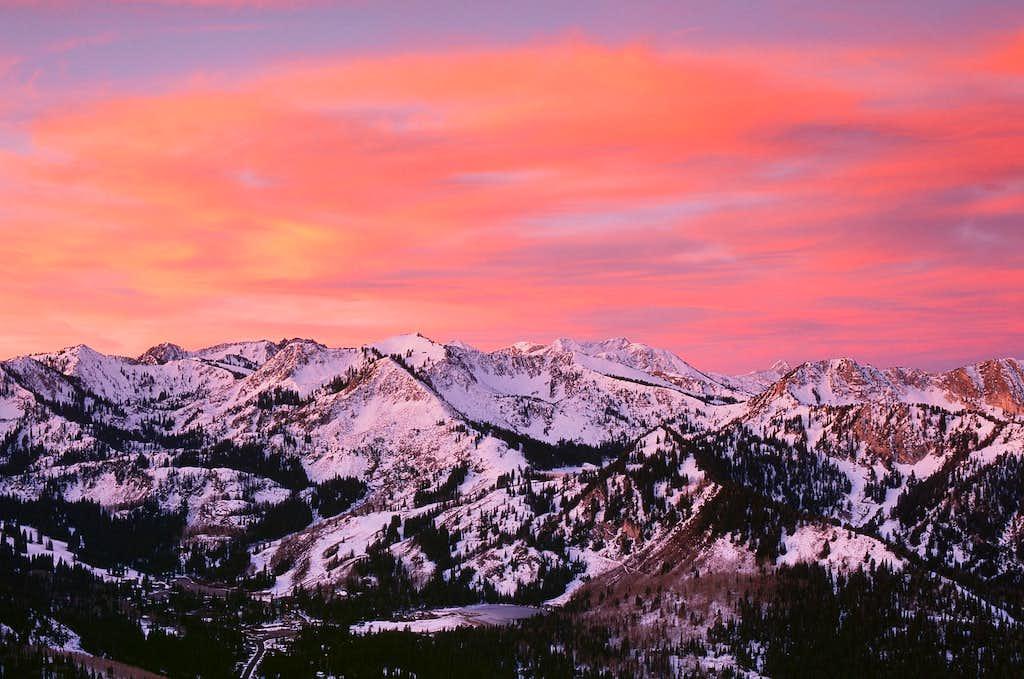 Beautiful Wasatch Sunrise