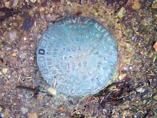 Glastenbury Mountain Survey Marker