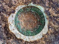 Hadley Mountain Survey Marker
