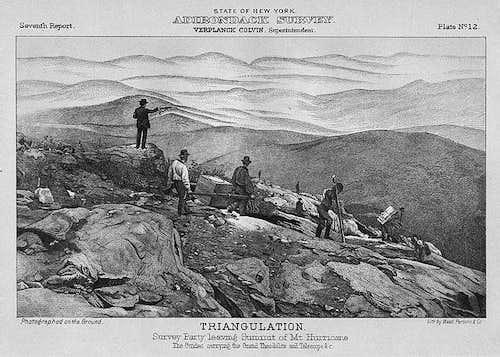 Adirondack Survey-Hurricane Mtn