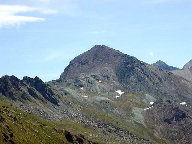 la punta Laval (3091 m.)