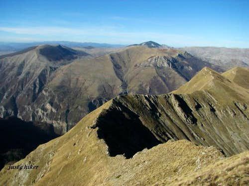 Visocica ridge