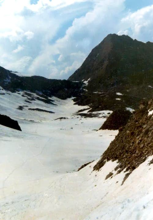 From CARREL Pass towards PECKOZ and BLANTSETTE Pass