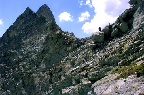 MOUNT BERLON (3132m) and PASS (3009m)