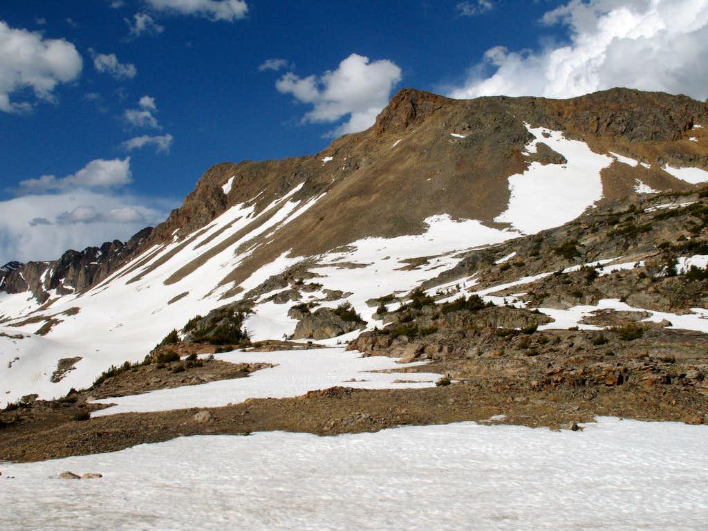 South Ridge, Mount Zimmer