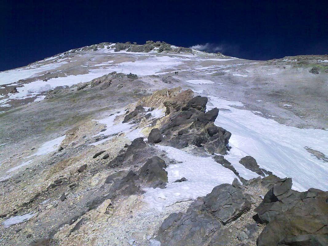 بیماران ام اس بر فراز قله دماوند: