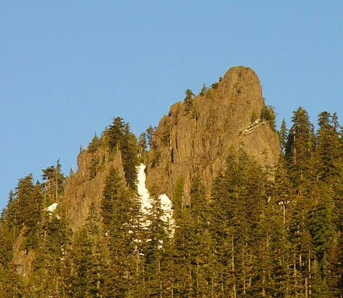 Dog Tooth Rock's South Face