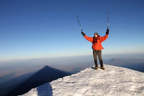 Orizaba summit photo