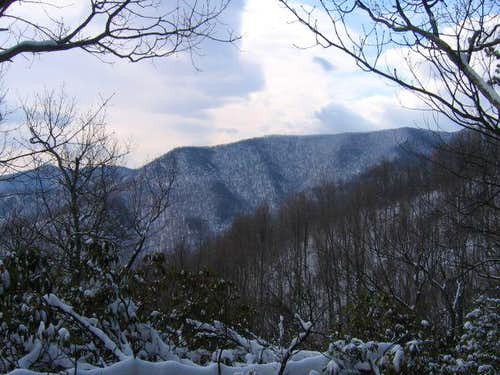 Eastern Fork Mountain from Doubletop