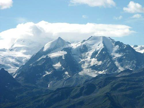 Grand Combin seen from...