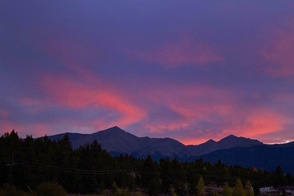 Elbert Sunset