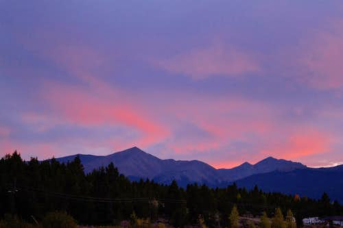 Elbert Sunset
